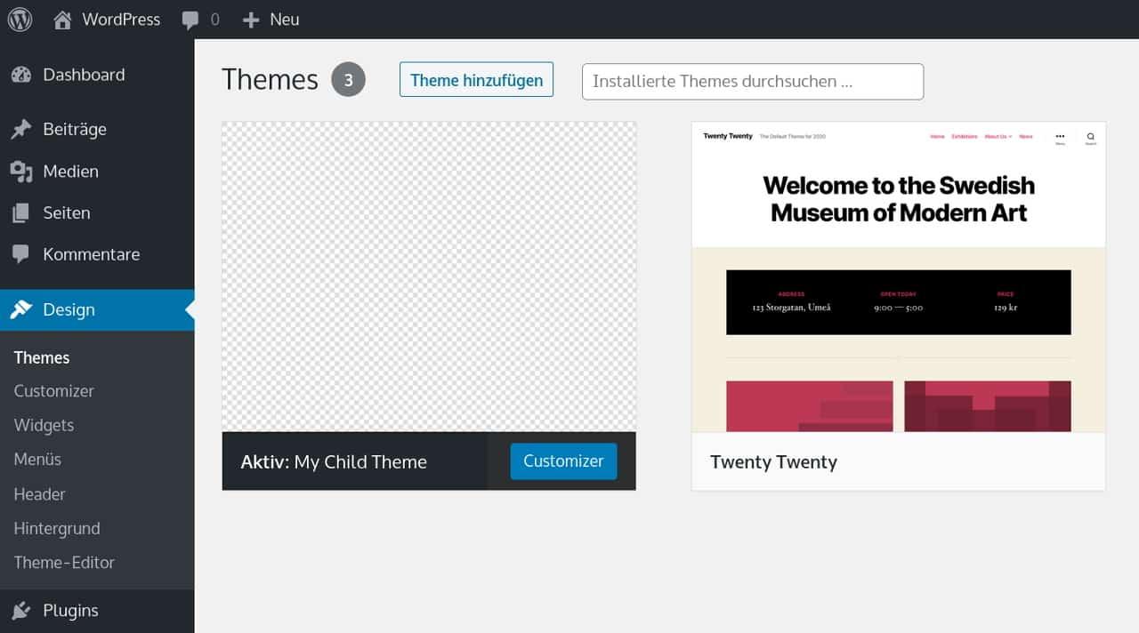WordPress Child Theme erstellen: Ausführliche Anleitung